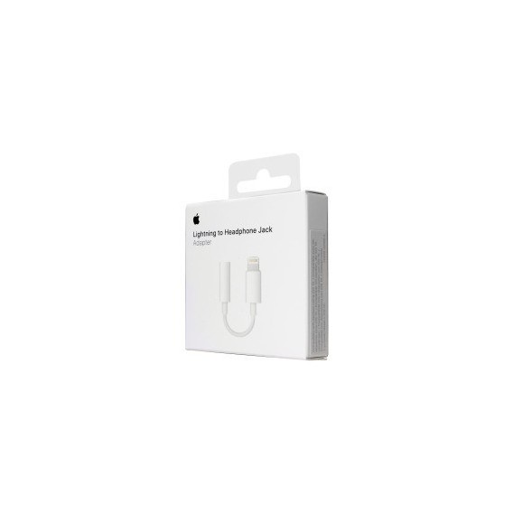 Apple Headset Jack Adapter MMX62ZM/A Lightning auf 3,5mm