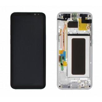 Original LCD Display Samsung G955F Galaxy S8+ Silber