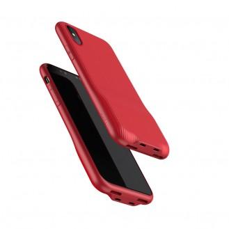 Baseus Audio Case iPhone X Rot