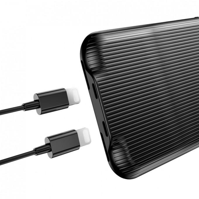 Baseus Audio Case iPhone X Schwarz