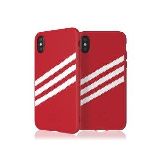 adidas Wildleder für Apple iPhone X Rot