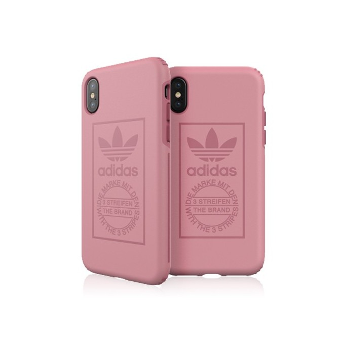 adidas Wildleder für Apple iPhone X Rot