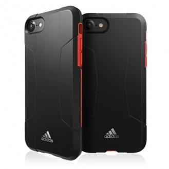 adidas Backcase iPhone 7 / 8 original schwarz grau
