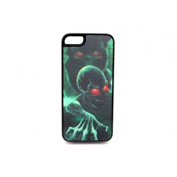 3D-Kopf Rote Augen Cover iPhone 5 / 5S / SE