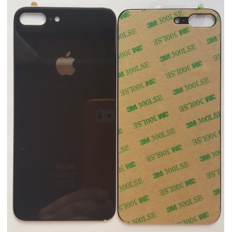 iPhone 8 Plus Backglass Akku Deckel Schwarz