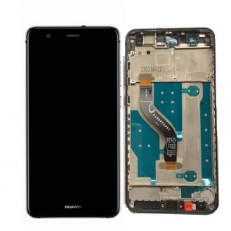 Huawei P10 Lite Display mit Rahmen Schwarz