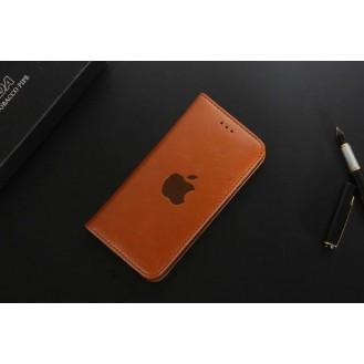Leder Hülle Etui iPhone 7 & 8 Braun
