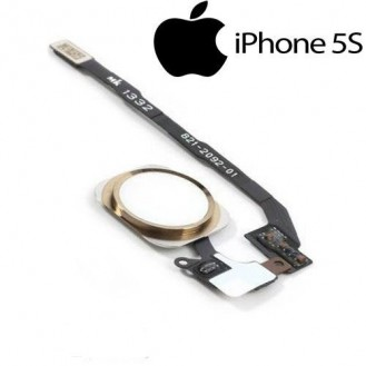 Homebutton Flexkabel Touch ID Sensor Gold iPhone 5S