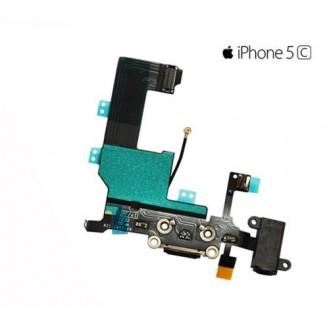 iPhone 5C Ladebuchse / Dock Connector und Audio Jack / Kopfhörerbuchse Flex Kabel A1456, A1507, A1516, A1529, A1532