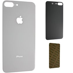 iPhone 8 Plus Backglass Akku Deckel Weiss