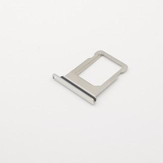 iPhone X Simhalter Simkarten Halter Silber