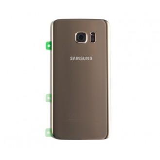 Samsung G935F Galaxy S7 Edge Akkufachdeckel Gold