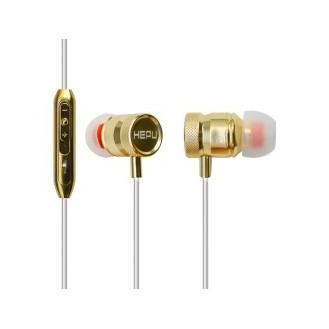 Headset Stereo Hepu HP705G gold - weiss