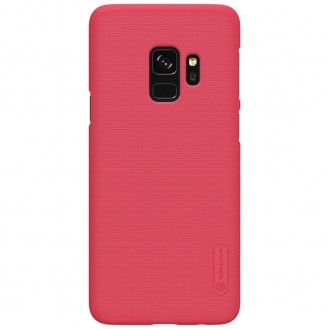 Nillkin Frosted Shield Matte Hülle Galaxy S9 Rot