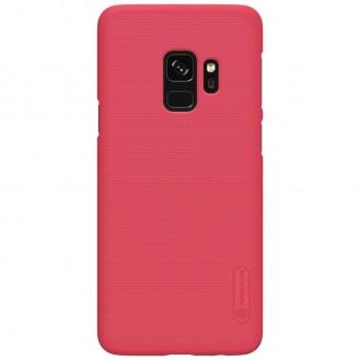 Nillkin Frosted Shield Matte Hülle Galaxy S9 Plus Rot