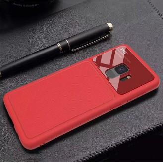 Dünnes Backcover Hardcase  Galaxy S9 Rot
