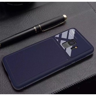 Dünnes Backcover Hardcase  Galaxy S9 Blau
