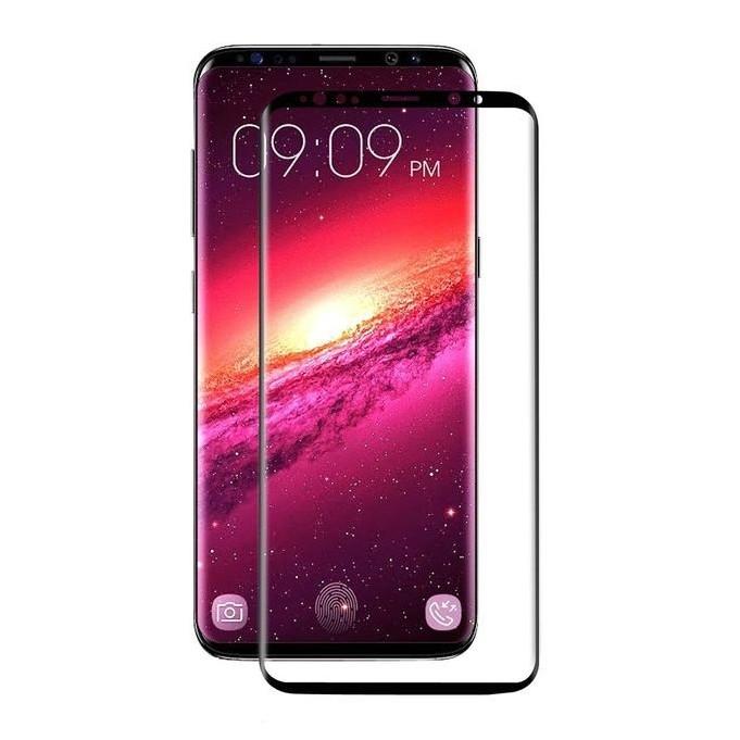 4D Panzer Glas Samsung Galaxy S9 Plus