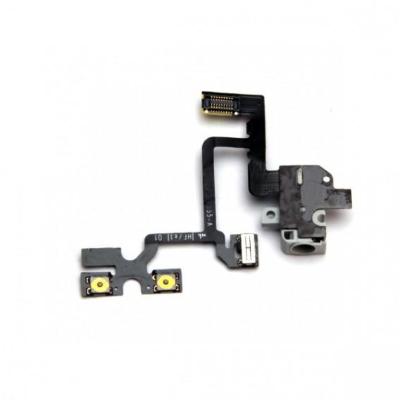 iPhone 4 Flex Kabel Kopfhörer Buchse Headphone mit Audio Jack