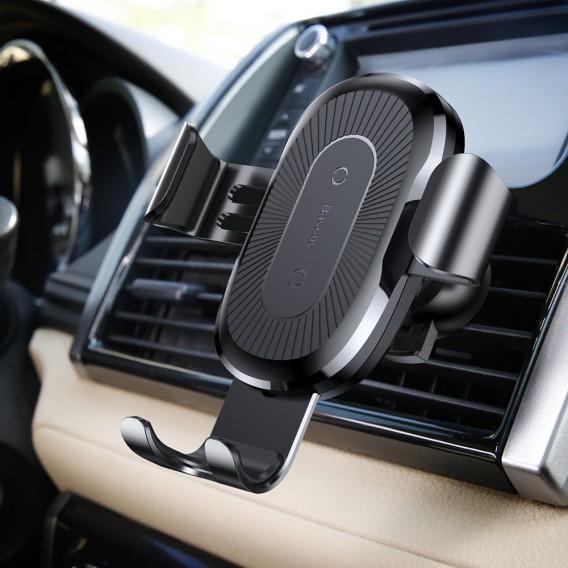 BASEUS KFZ Auto Qi Wireless Charger + Befestigung