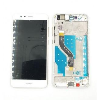 Huawei P10 Lite Display mit Rahmen Weiss
