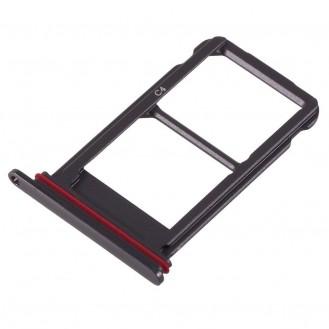 Huawei Mate 10 Sim Tray Karten Adapter - Schwarz