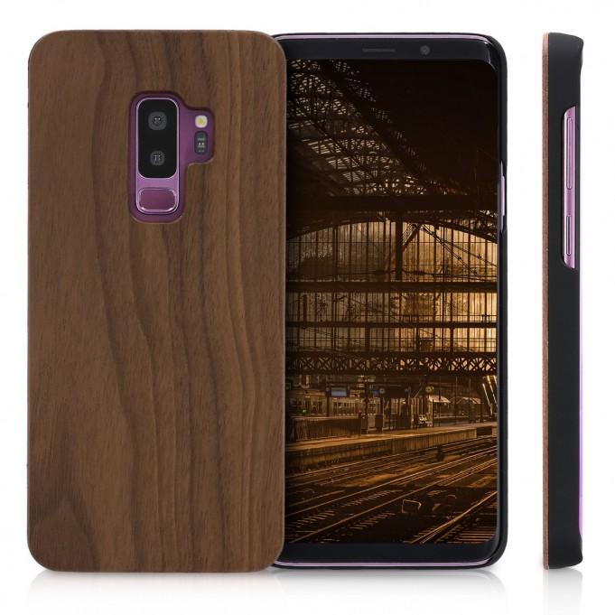 Holz Wood Case Samsung Galaxy s9 Plus