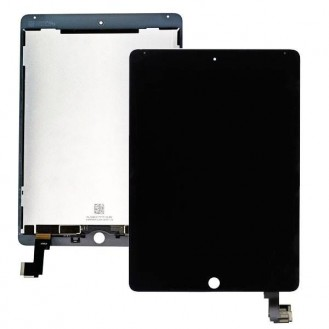 iPad Air 2 LCD Display mit Digitizer Schwarz A1566, A1567
