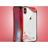 Bling Glitzer Silikon Hülle iphone X Rot