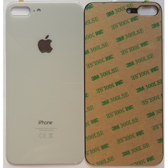iPhone 8 Plus Backglass Akku Deckel Weiss