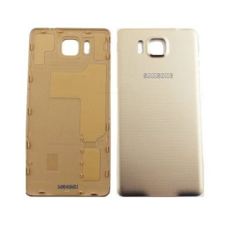 Akkudeckel Batterie Cover Galaxy Alpha Gold