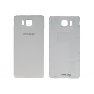 Akkudeckel Batterie Cover Galaxy Alpha Weiss