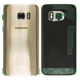 Samsung G930F Galaxy S7 Akkufachdeckel Gold