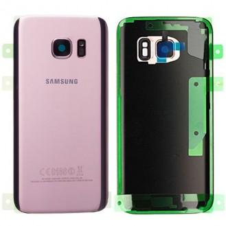 Samsung G930F Galaxy S7 Akkufachdeckel Pink