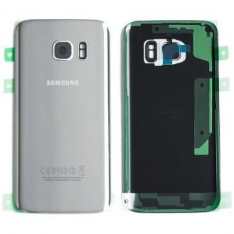 Samsung G935F Galaxy S7 Edge Akkufachdeckel Silber