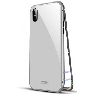 Magnet Cover Hülle iPhone X Schwarz