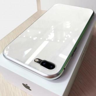 Magnet Cover iPhone 7 Plus & 8 Plus Schwarz