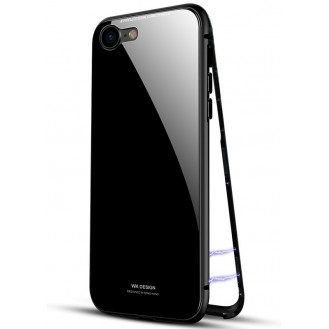 Bling Cover Hülle iPhone 7 & 8 Schwarz