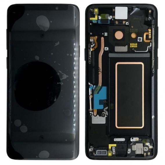 Original LCD Display Samsung G965F Galaxy S9 Plus Schwarz