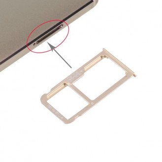 Huawei Mate 8 Sim Tray Adapter - Gold