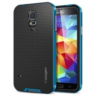 SGP NEO Schützhülle Case Galaxy S5 Blau