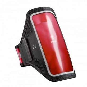 Jogging Tasche SE 2020 / 8 / 7 / 6 / 6S Sportarmband Fitnessband BASEUS Rot