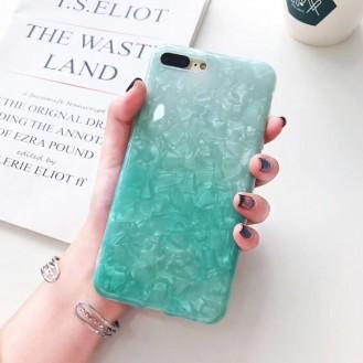 Marmor Silikon Hülle iphone X
