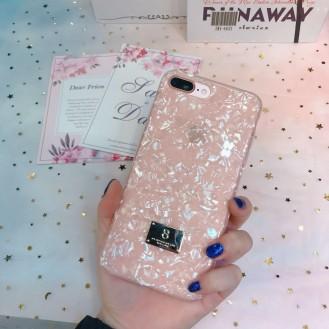 Marmor Silikon Hülle iPhone 7 Plus & 8 Plus