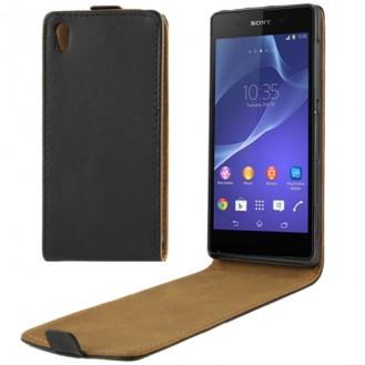 More about Schwarz Flip Leder Etui Tasche Sony Xperia Z2 / L50w