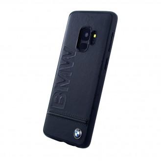 BMW - Logo Imprint - Leder Hardcover - Samsung G960F Galaxy S9