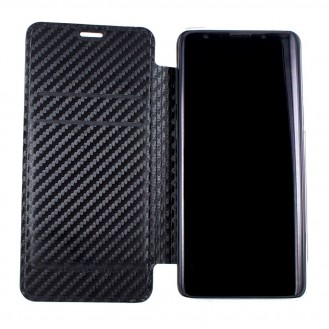 Mercedes Benz - Carbon Book Cover G960F Galaxy S9