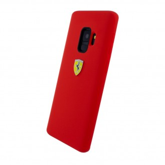 Ferrari - Urban Silikon Cover G960F Galaxy S9 Red