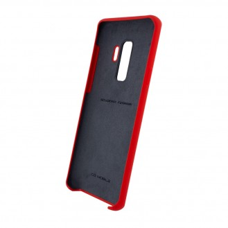 Ferrari - Urban Silikon Cover G960F Galaxy S9 Plus Red