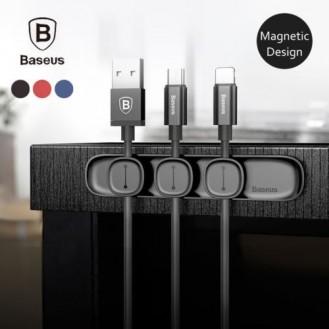 Baseus Magnetischer Kabelclip Organizer Halter